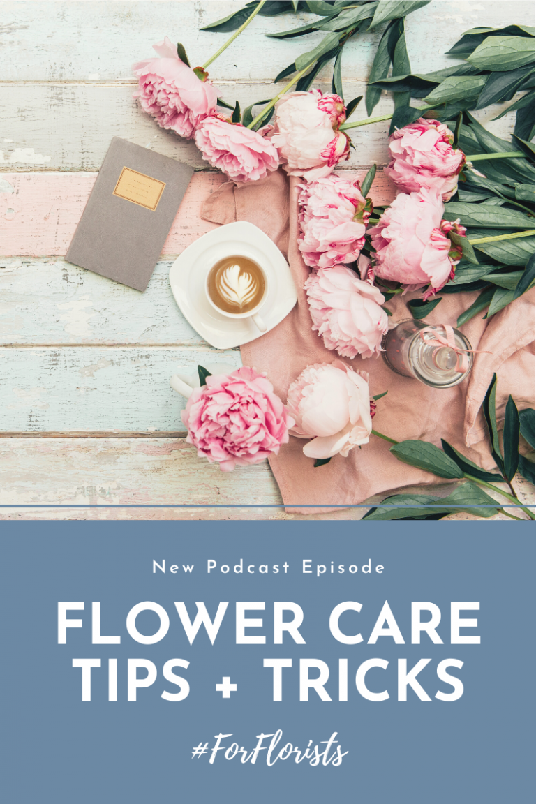 Thrive Podcast #ForFlorists Blog Cover Photos